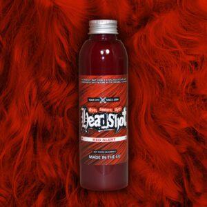 Zářivé červená barva na vlasy