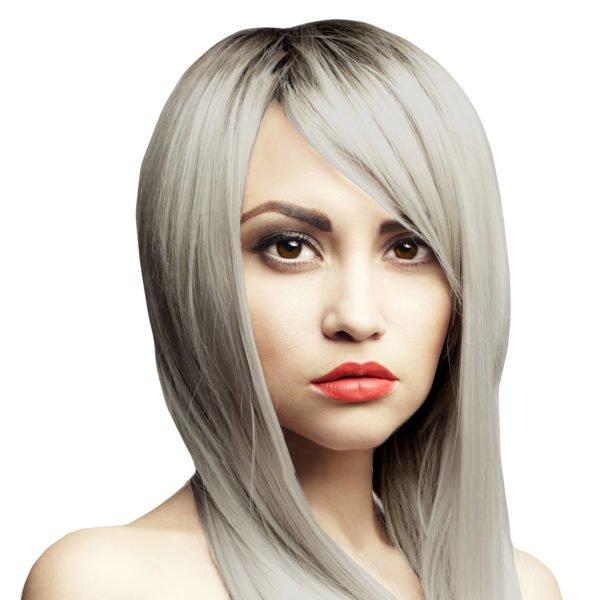 stříbrné vlasy