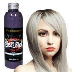 stříbrná barva na vlasy