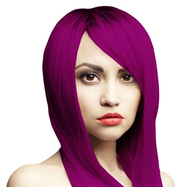 bordo fialova barva na vlasy