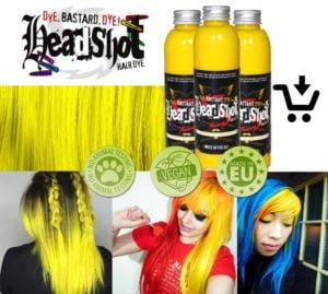 prodej žlutá barva na vlasy