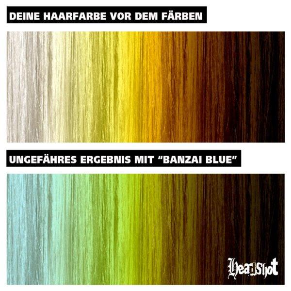 světle modré vlasy