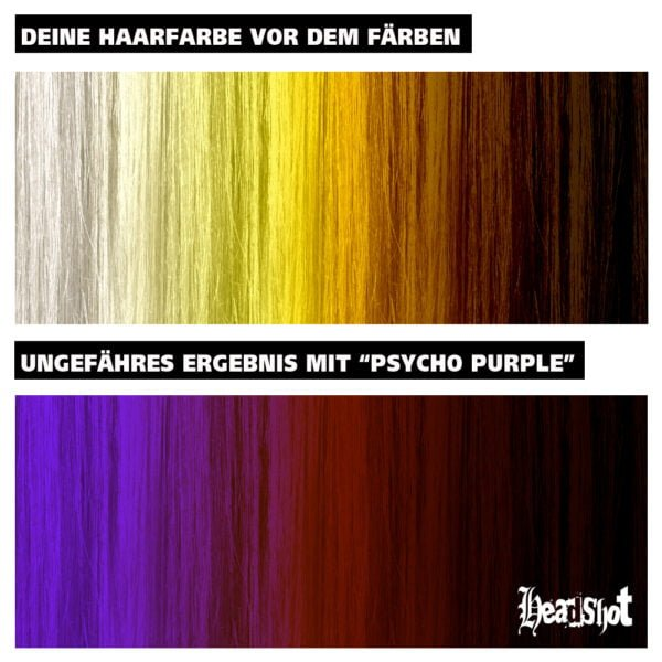 barvení vlasů na fialovo