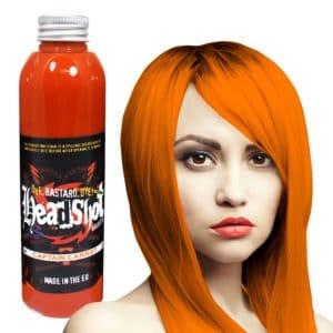 oranžová barva na vlasy captain carrot headshot