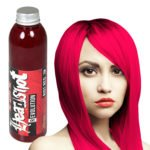 červeno růžová barva na vlasy