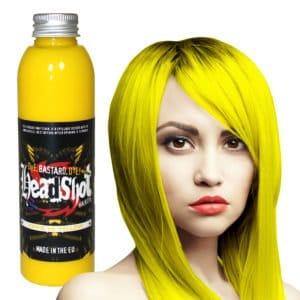 žlutá barva na vlasy