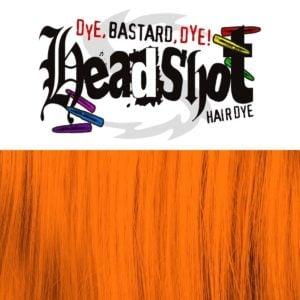 Captain Carrot veganská oranžová barva na vlasy