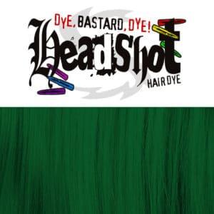 smaragdově zelená barva na vlasy