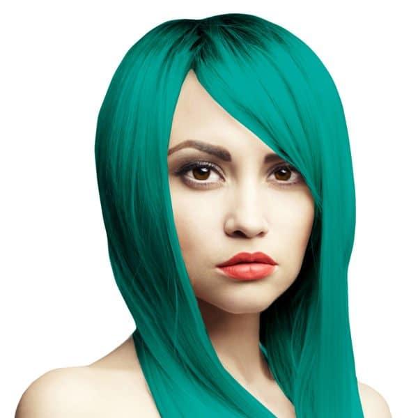 Tyrkysová barva na vlasy