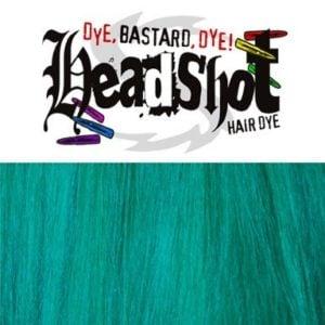 vegan zelenomodra barva na vlasy