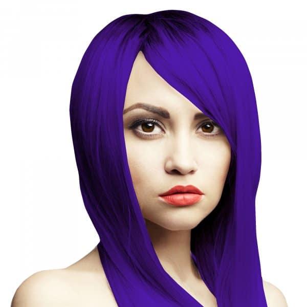 modro fialove vlasy