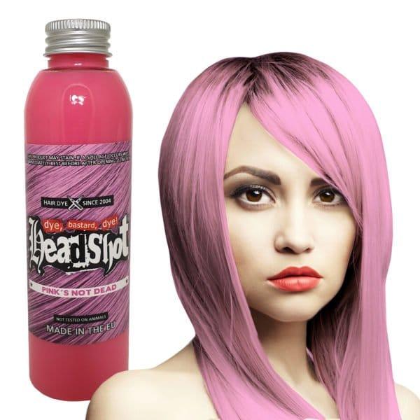 pastelově růžová barva na vlasy