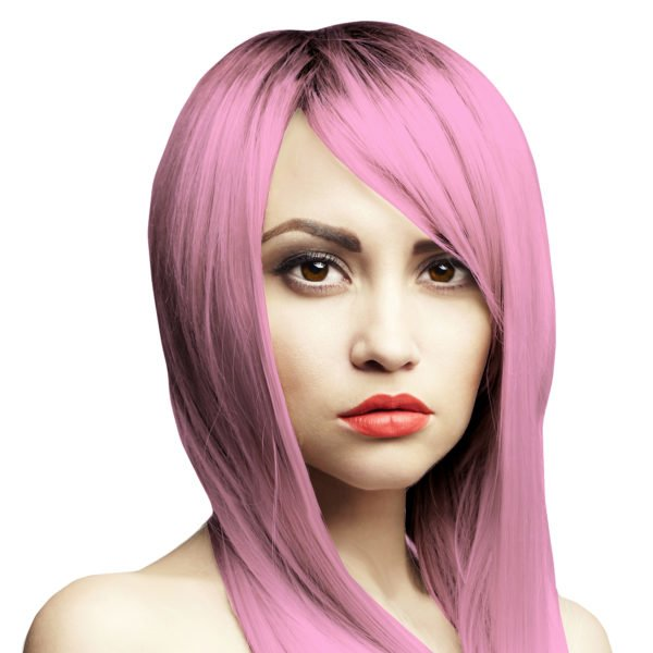 světle růžová barva na vlasy pinks not dead headshot