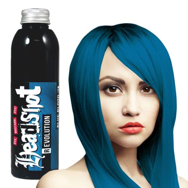 námořnická modrá barva na vlasy