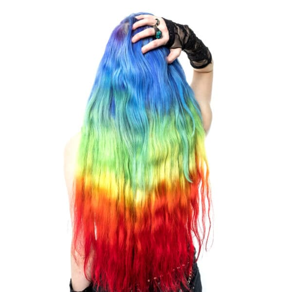 duhové vlasy